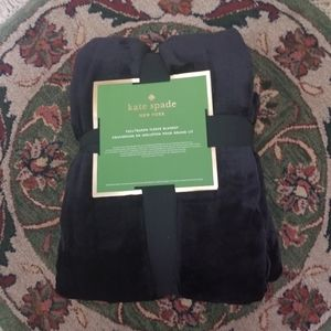 Kate Spade New York Fleece Blanket Full / Queen